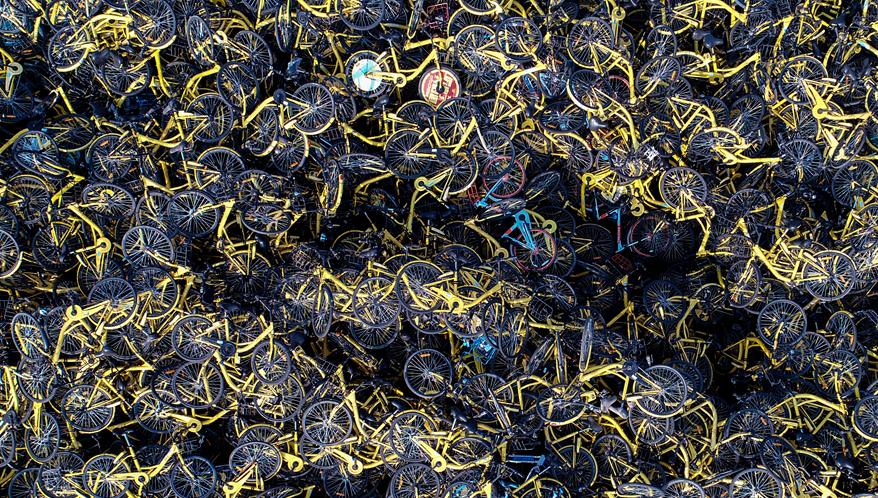 单车坟场触目惊心:废弃单车该如何安放?