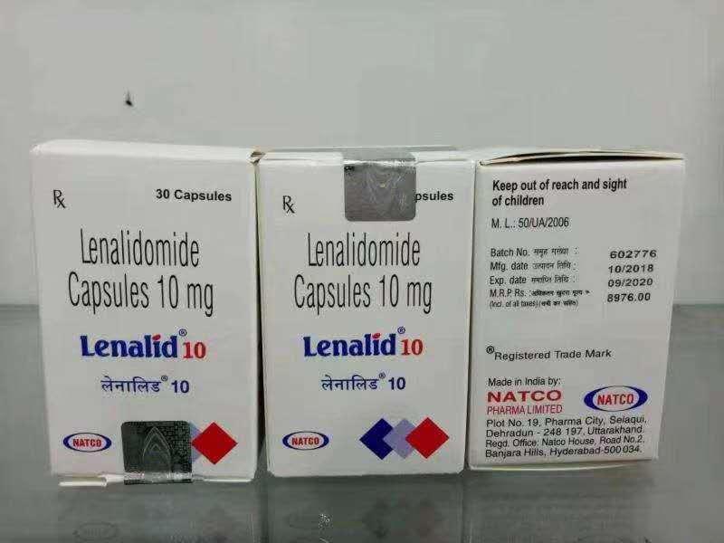 印度来那度胺价格?印度来那度胺效果和正版药是一样的吗?